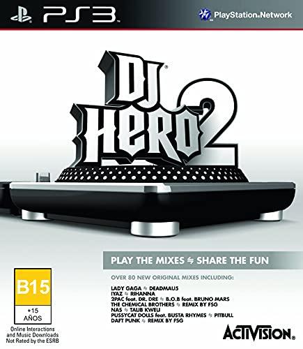 Activision DJ Hero 2 - Juego (PlayStation 3, Música, T (Teen))
