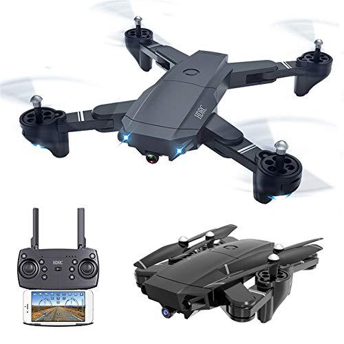 HUAXM 4k Drone Pliant, WiFi FPV Drone, Pliable avec 4K caméra HD, Jouet Avion Portable pour Adultes débutants