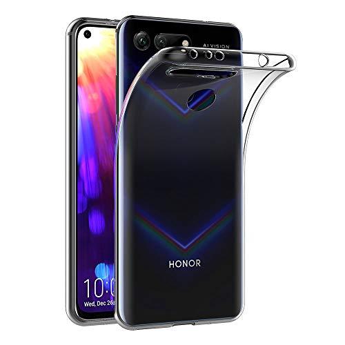 AICEK Coque Huawei Honor View 20, Transparente Silicone Coque pour Honor View 20 Housse Silicone Etui Case (6,4 Pouces)