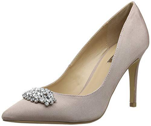 Dorothy Perkins Jewel Court Shoes, Escarpins Bout fermé Femme, Rose (Blush 30), 37 EU