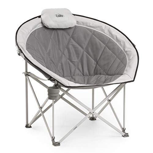 Core 40025 Equipment Folding Oversized Padded Moon Round...