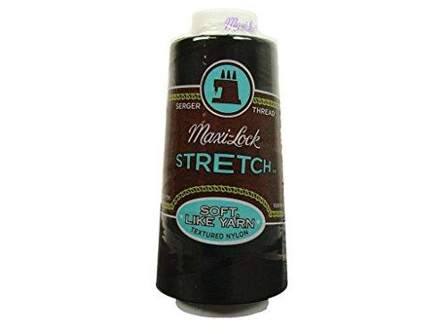 American & Efird A& E Thread 2000yd Maxi Lock Stretch Black (AME54.32002)
