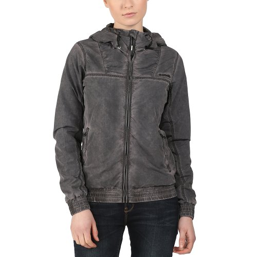 Bench Damen Jacke Jacke Aytoun schwarz (Jet Black) Medium