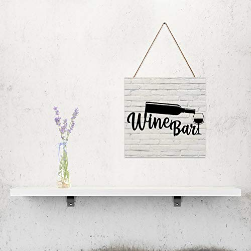 vinoteca madera pared de la marca Free Brand