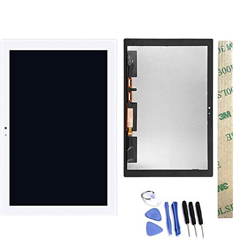Dr.Chans LCD Display Screen Touch Digitizer Assembly Replacement with Free Tools for Sony Xperia Tablet Z4 SGP712 SGP771 White