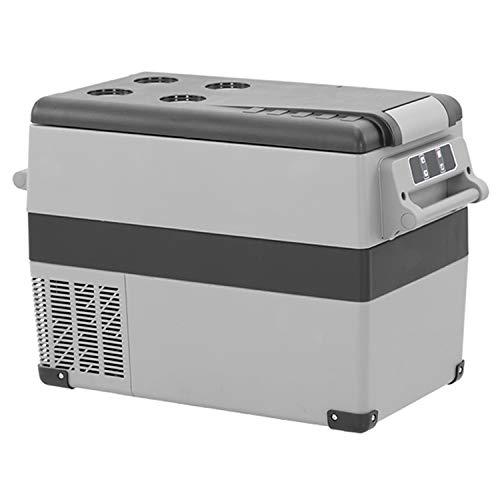 KLFD Refrigerador Portátil de 55 L, Refrigerador para Automóvil, Congelador Doméstico, Compresor de 12 V / 24 V, Enfriamiento Rápido de 20 ° a -20 °, para Automóviles Viajes