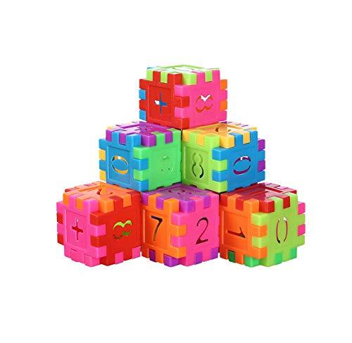D-tal Building Blocks, Classic Construction Toy for Kids, Kids Builders Blocks Play Set, Builder Bricks Preschool, Building Sets for Children (30 PCS)