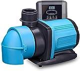 angelHJQ Bomba de Agua Sumergible eléctrica de Acuario, Bomba de Agua ultrasilenciosa para Estanque, Piscina y Acuario, Bomba de circulación de Agua,80W