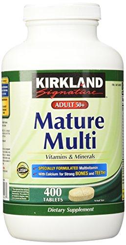 Kirkland Signature Mature Adult Multi Vitamin Tablets - 400...