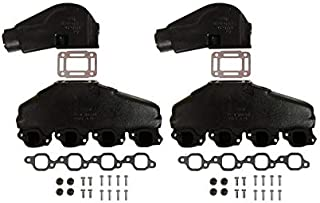 Barr Manifold Exhaust Kit for Marine Power V8 7.4L with 3