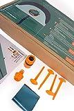 TEAM MAGNUS Wasserrutsche XXL (950x160cm) - Slip und Slide aus strapazierfähigem 0.22mm PVC - 2