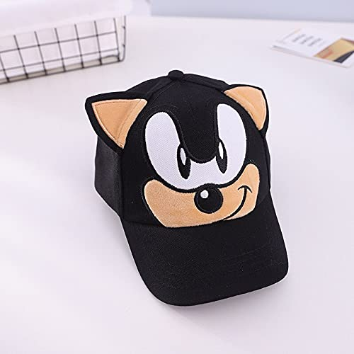 Super mary sonic hat juegos de Sonic sombrilla sombrero de dibujos animados niños gorra de juguete gorra de béisbol niños personajes animados hip-hop niños niñas Cosplay cumpleaños