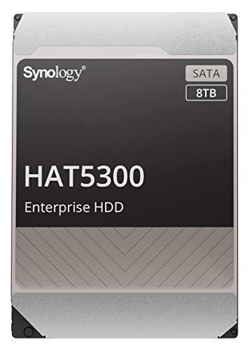 """【NAS用HDD】Synology HAT5300-8T [8TB 3.5"""" SATA 7,200rpm / エンタープライズグレードHDD(MTTF250万時間) / Synoloyg NAS専用 / 5年保証] 国内正規代理店品"""