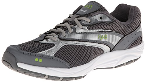 Ryka Women's, Dash Grey/Silver/Lime, 9 M US