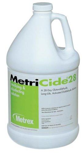 Metrex 10-2800 MetriCide 28 High-Level Disinfectant/Sterilant, 1 gal Capacity