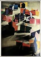 ポスター ピーター リンドバーグ VISIONAIRE(ヴィジョネアー) モホリ=ナジ・ラースロー 額装品 アルミ製ベーシックフレーム(ライトブロンズ)