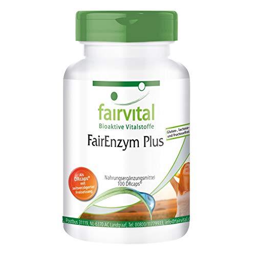 FairEnzym Plus - Multi Enzym Komplex - HOCHDOSIERT - 100 DRCaps™