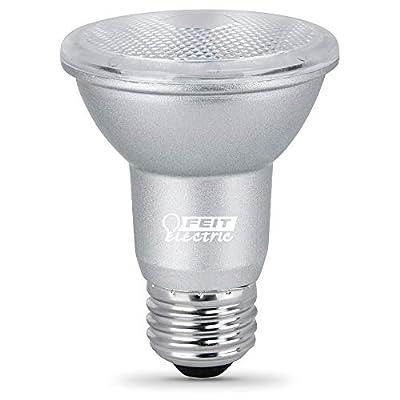 """Feit Electric PAR20DM/950CA/4 5W 50W Equivalent Dimmable 450 Lumen CEC Compliant Energy Star LED PAR20 Flood Reflector Light Bulb, 3.2""""H x 2.5""""D, 5000K (Daylight), 4 Piece"""