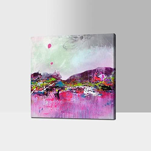 CHASOE Schönste Wandkunst Dekor Einfache Acrylbild Neueste Handgemachte Abstrakte Ölgemälde Auf Leinwand Kein Rahmen 28X28
