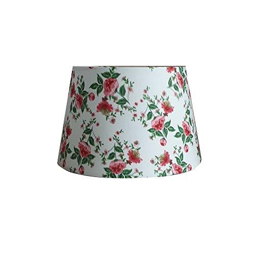 Abat-jour pour lampe de table, lampadaire, fleurs, maison de campagne