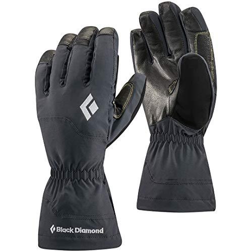 Black Diamond Gants Glissade - Gants 4 saisons imperméables avec doublure en fibre polaire - Pour diverses activités d'hiver / Unisexe, noir, taille XL