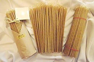80 Small Candles 7-9 Grams - 100% Pure Australian Bees Wax