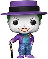 """Funko - Pop! Heroes - Batman 1989: Joker with Hat 10"""" Figurina de Colección, Multicolor, 47709"""