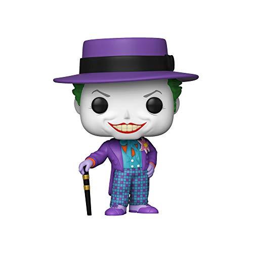 Funko Pop Heroes: Batman 1989 - Joker w/Hat w/Chase (El diseño Puede Variar) Multicolor