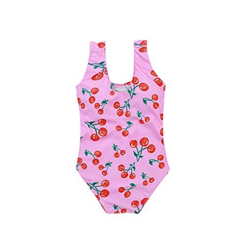 HANHOU Badeanzug Badeanzug Mädchen Kinder Badebekleidung Kinder Off Shoulder Badeanzug Beach Wear Pool Urlaub Schwimmoutfit Rock G Set,G-L