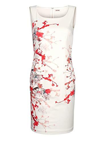 Alba Moda Kleid mit edlem, floralem Print Off-White