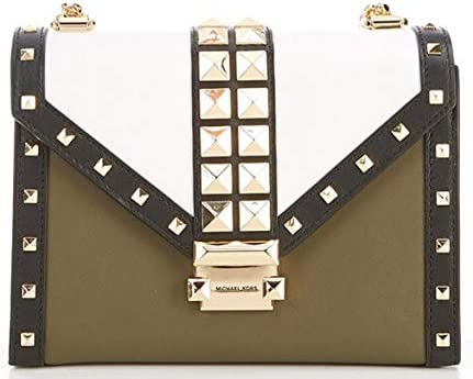 MICHAEL Michael Kors Whitney Colorblock Studded Large Shoulder Bag product image
