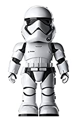 Robot Star Wars Stormtrooper toy to partrol and protect your bedroom
