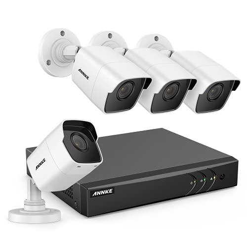 ANNKE 5MP Home Security CCTV Camera System 8CH 5MP CCTV DVR System w/ 4 x...