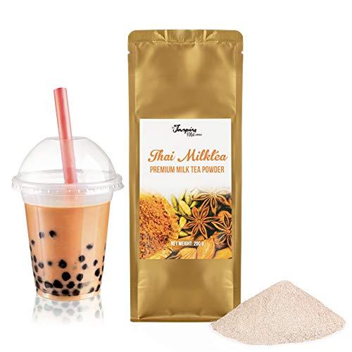 Premium Thai Milchtee Pulver für Bubble Tea - 200g | Thai Milk Tea Powder - Hochwertige Inhaltstoffe - Ohne künstliche Farbstoffe