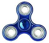 Christmas Concepts® - Exclusivo Fidget Hand Spinner - Reductor de Estrés, Alivio de Estrés, Autismo - Metallic Blue