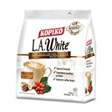 Kopiko Low Acid White Coffee / Rich in Aroma, Bold in Taste Yet Easy On Stomach / A Less Acidic Brew for Coffee Lovers (15s x 40g)