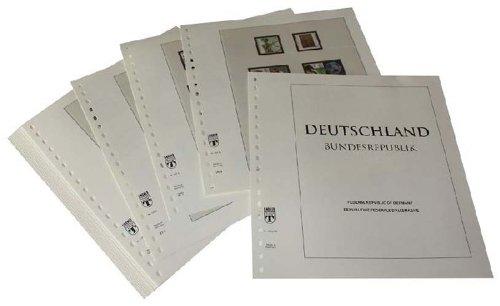 LINDNER Das Original Deutschland 24 Automatenmarken ohne Werteindruck: Emblem der Deutschen Bundespost Automatenmarken