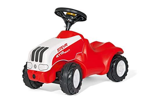 Rolly Toys rollyMinitrac Babyrutscher Steyr Multi 4115 (für Kinder von 1,5 bis 4 Jahren, ergonomische Form, Flüsterlaufreifen) 132010