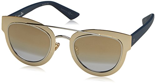 Dior Damen Diorchromic 9F Lml 47 Sonnenbrille, Gold (Blute/Ltgryvsp)