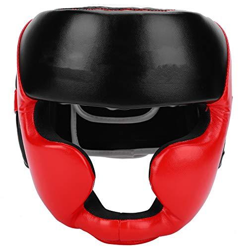 Shipenophy Gesichtsschutz Kopfschutz Schutzausrüstung Bequem Haltbarer Schaumstoff Rot Verschleißfest Kopfschutz M Sicherheit für Taekwondo Training für Kinder