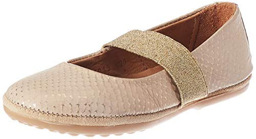 Bisgaard Mädchen Quinn Geschlossene Ballerinas, Gold (Gold 2202), 34 EU