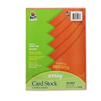 Array Card Stock Brights Pumpkin