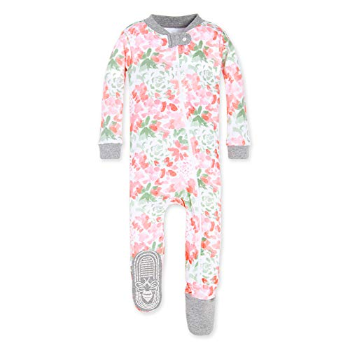Burt's Bees Baby, Baby Girls,Sleeper Pajamas, Zip Front...