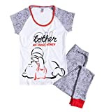 Womens Oh Bother Winnie The Pooh Disney Pyjamas White/Off White