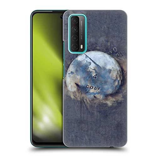 Head Case Designs sous Licence Officielle Simone Gatterwe Boule De Grunge Planètes Coque Dure pour l'arrière Compatible avec Huawei P Smart (2021)