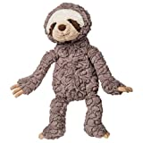Mary Meyer Grey Putty Stuffed Animal Soft Toy, Sloth, 12-Inches