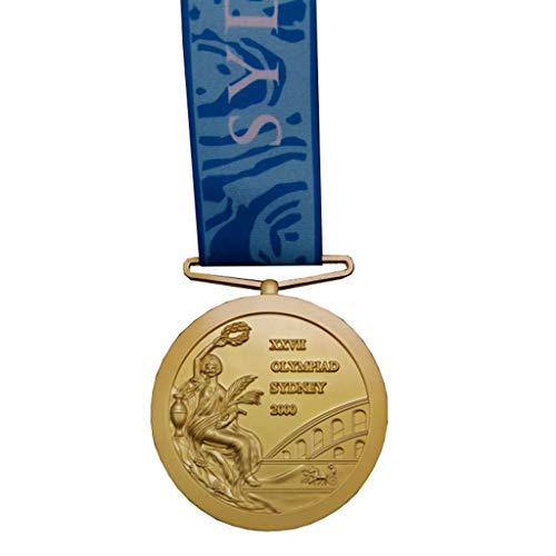 Réplica del Emblema conmemorativo olímpico, 2000 Juegos Olímpicos de Sydney en Australia Medalla de Oro, Medalla de aleación de Zinc, Medalla de colección