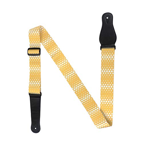 ruiycltd Dots Ethnic Style New York Adjustable Acoustic Electric Guitar Bass Sling Strap Surprise 2#