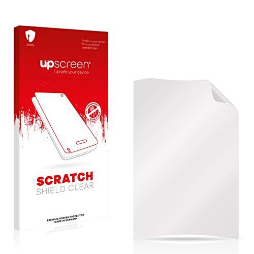 upscreen Scratch Shield Clear Displayschutz Schutzfolie für Crivit Fahrradcomputer (hochtransparent, hoher Kratzschutz)