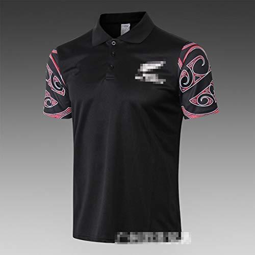 GXHLLYZY 2019 Maori T-Shirt Rugby Jersey, Rugby Fan Freizeit Sport Rugby Uniform (Size : XL)